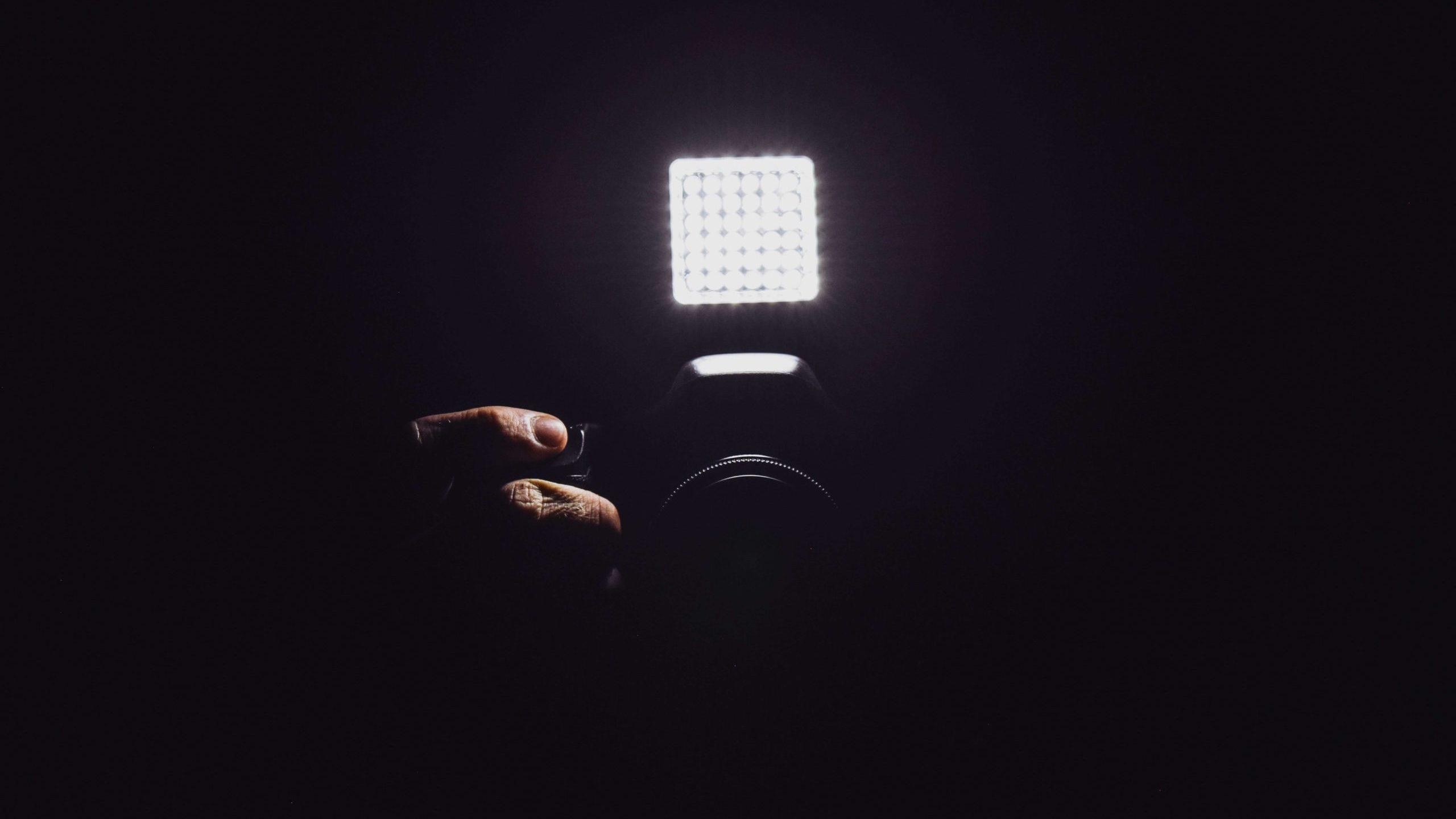 LED照明の画像