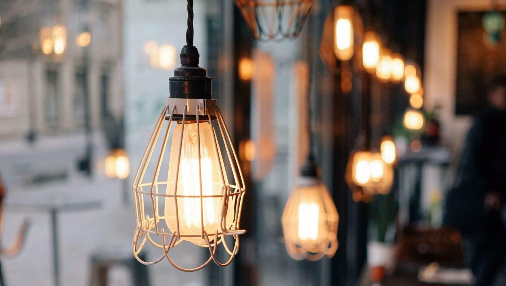 タングステン照明の画像
